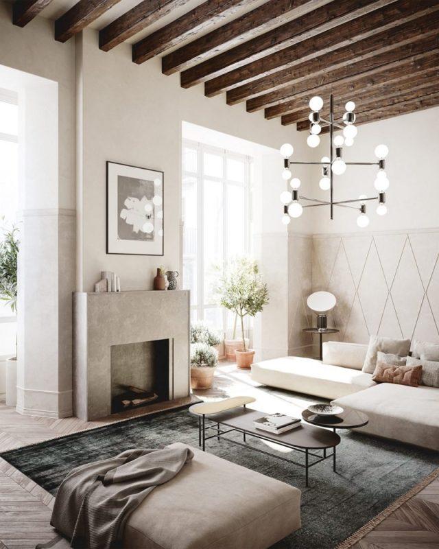 Impremta Garden Palma Mallorca Living Room Scandinavian Functionalism