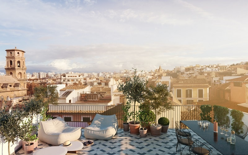 Impremta Garden Palma Mallorca Rooftop Terrace