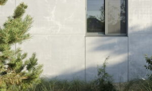 A Concrete House in the Dunes by i.s.m.architecten, Belgium