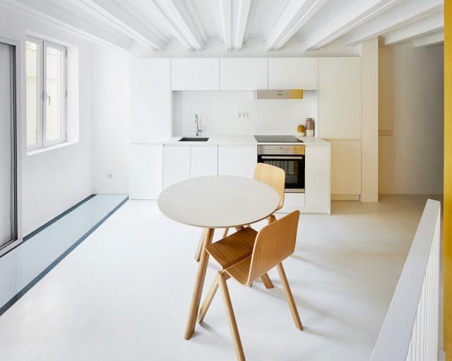 Duplex Apartment by Raul Sanchez Architects, Barcelona, Spain