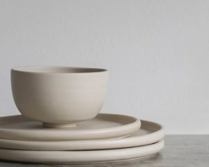 Minimalist Ceramics by Ida Svardstrom x Melo Studio