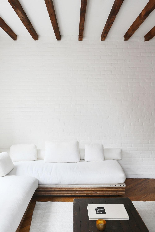 Minimalist Living Room Interior - Loft Apartment, Lower East Side, Manhattan, New York