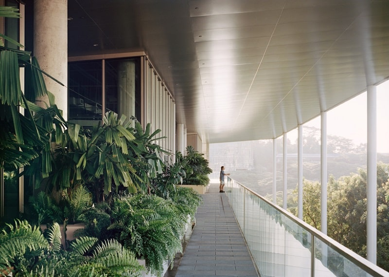 Net Zero Energy School of Design in Singapore