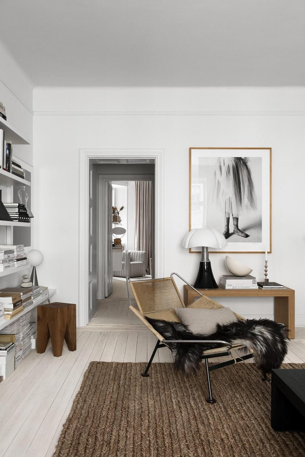斯德哥尔摩公寓,Lotta Agaton风格。 汉斯·韦格纳(Hans J.
